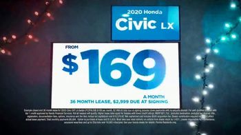 Happy Honda Days Sales Event TV Spot, 'Holiday Clearance: Civic' [T2] - Thumbnail 4