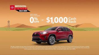 Toyota Mission: Incredible Sales Event TV Spot, 'Save Big: RAV4' [T2] - Thumbnail 3