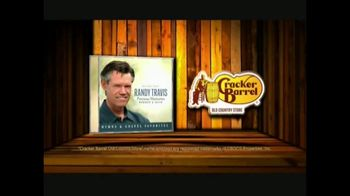 Cracker Barrel Old Country Store and Restaurant TV Spot, 'Randy Travis: Precious Moments' - Thumbnail 10