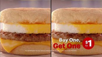 McDonald's TV Spot, 'Breakfast Stampede: Sausage McMuffin With Egg' - Thumbnail 8
