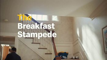 McDonald's TV Spot, 'Breakfast Stampede: Sausage McMuffin With Egg' - Thumbnail 4