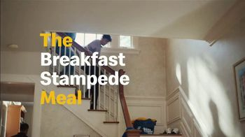 McDonald's TV Spot, 'Breakfast Stampede: Sausage McMuffin With Egg' - Thumbnail 5