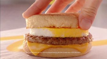 McDonald's TV Spot, 'Breakfast Stampede: Sausage McMuffin With Egg' - Thumbnail 7