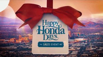 Happy Honda Days Sales Event TV Spot, 'Holiday Clearance: Accord' [T2] - Thumbnail 1