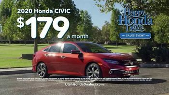 Happy Honda Days Sales Event TV Spot, 'Compare: Civic' [T2] - Thumbnail 9