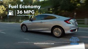 Happy Honda Days Sales Event TV Spot, 'Compare: Civic' [T2] - Thumbnail 1
