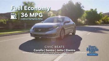 Happy Honda Days Sales Event TV Spot, 'Compare: Civic' [T2] - Thumbnail 2