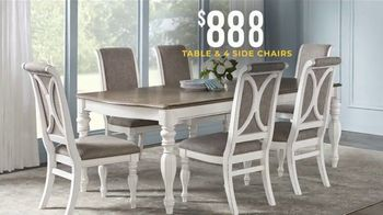 Rooms to Go Holiday Sale TV Spot, '$888 Table & Side Chairs' - Thumbnail 3