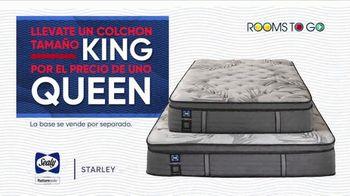 Rooms to Go La Venta por las Fiestas TV Spot, 'Colchón tamaño King' [Spanish] - Thumbnail 6