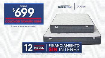 Rooms to Go La Venta por las Fiestas TV Spot, 'Colchón tamaño King' [Spanish] - Thumbnail 4