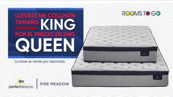 Rooms to Go La Venta por las Fiestas TV Spot, 'Colchón tamaño King' [Spanish] - Thumbnail 5