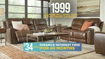 Rooms to Go Holiday Sale TV Spot, 'Recline in Comfort: $1,999 Leather Reclining Sofa' - Thumbnail 5