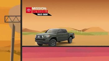 Toyota Mission: Incredible Sales Event TV Spot, 'Best Deals: Trucks' [T2] - Thumbnail 3