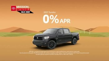 Toyota Mission: Incredible Sales Event TV Spot, 'Best Deals: Trucks' [T2] - Thumbnail 7