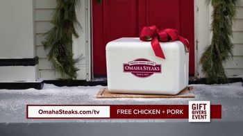 Omaha Steaks Gift Givers Event TV Spot, 'A Gift Like No Other: Free Chicken and Pork' - Thumbnail 7
