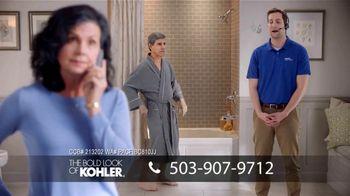 Kohler Walk-In Bath TV Spot, 'Biggest Savings: Calling Kohler: $1200 Off' - 272 commercial airings
