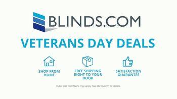 Blinds.com Veterans Day Deals TV Spot, 'Easy: 40% Off'