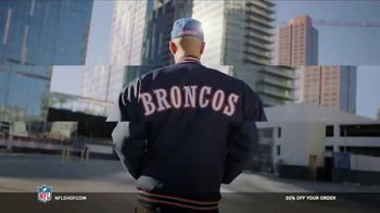 NFL Shop TV Spot, 'Make the Game Yours: 30% Off' Song by Jodosky x Albert Hype - 21 commercial airings
