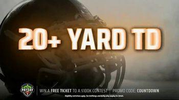 DraftKings Big Play Payday TV Spot, 'NFL Week 10: Colts vs. Titans' - Thumbnail 5
