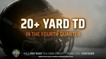 DraftKings Big Play Payday TV Spot, 'NFL Week 10: Colts vs. Titans' - Thumbnail 6