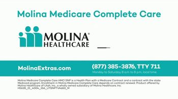 Molina Medicare Complete Care TV Spot, 'More Benefits' - Thumbnail 7