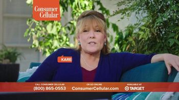 Consumer Cellular TV Spot, 'Folks: Chrissy and Mitch: Holiday $25 Off' - Thumbnail 5