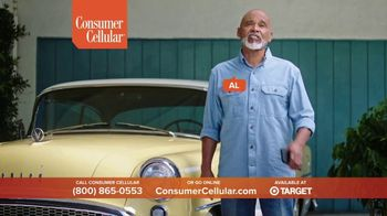 Consumer Cellular TV Spot, 'Folks: Chrissy and Mitch: Holiday $25 Off' - Thumbnail 8