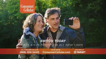 Consumer Cellular TV Spot, 'Flexible Plans: $25 Off' - Thumbnail 8