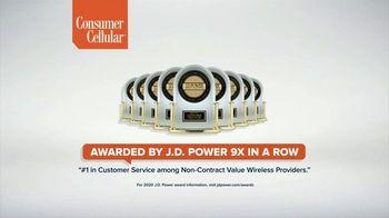 Consumer Cellular TV Spot, 'Flexible Plans: $25 Off' - Thumbnail 5