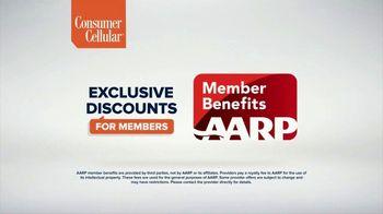 Consumer Cellular TV Spot, 'Flexible Plans: $25 Off' - Thumbnail 6