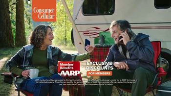 Consumer Cellular TV Spot, 'Premium Wireless: $25 Off' - Thumbnail 8