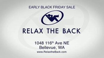 Relax the Back Early Black Friday Sale TV Spot, 'Free Upgrade on X-Chair or 20% Off' - Thumbnail 10