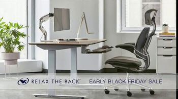 Relax the Back Early Black Friday Sale TV Spot, 'Free Upgrade on X-Chair or 20% Off' - Thumbnail 4