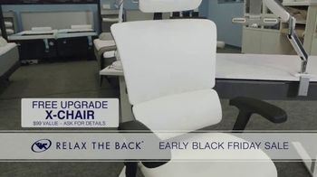 Relax the Back Early Black Friday Sale TV Spot, 'Free Upgrade on X-Chair or 20% Off' - Thumbnail 6