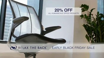 Relax the Back Early Black Friday Sale TV Spot, 'Free Upgrade on X-Chair or 20% Off' - Thumbnail 8