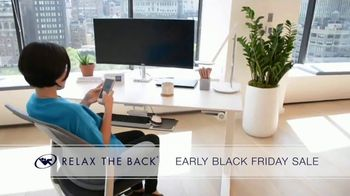 Relax the Back Early Black Friday Sale TV Spot, 'Free Upgrade on X-Chair or 20% Off' - Thumbnail 9