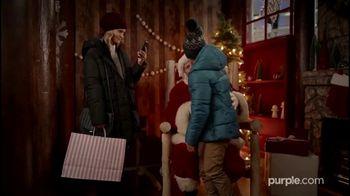 Purple Mattress Black Friday Deals TV Spot, 'Holidays: Santa' - Thumbnail 1