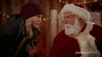 Purple Mattress Black Friday Deals TV Spot, 'Holidays: Santa'