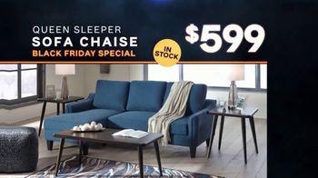 Ashley HomeStore Black Friday Sale TV Spot, 'Queen Sleeper Sofa Chaise' - Thumbnail 4