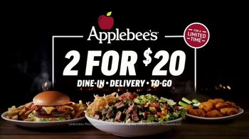 Applebee's 2 for $20 TV Spot, 'Date Night in the Neighborhood' Song by The Archies - Thumbnail 9