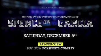 FOX Sports Premier Boxing Champions TV Spot, 'Spence Jr. vs. Garcia' - Thumbnail 7