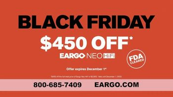 Eargo Black Friday Cyber Monday Sale TV Spot, 'Overheard Something You Shouldn't' - Thumbnail 8