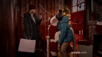 Purple Mattress TV Spot, 'Holidays: Santa Claus' - Thumbnail 1