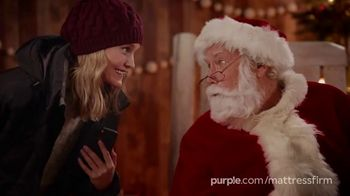 Purple Mattress TV Spot, 'Holidays: Santa Claus'