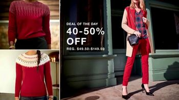 Macy's Thanksgiving One Day Sale TV Spot, 'Cozy Gifts and Diamond Jewelry' - Thumbnail 5