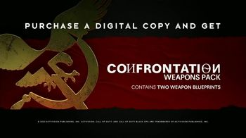 Call of Duty: Black Ops Cold War TV Spot, 'The Threat: Confrontation Weapons Pack' Song by New Order - Thumbnail 8