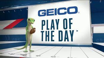 GEICO TV Spot, 'Play of the Day: Josh Allen Receiving Touchdown' - Thumbnail 6