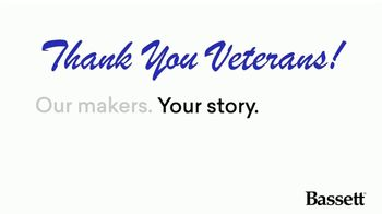 Bassett Veterans Day Sale TV Spot, 'Custom Orders' - Thumbnail 2