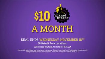 Planet Fitness TV Spot, 'Tons of Equipment: $10 a Month' - Thumbnail 10