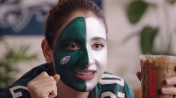 Dunkin' DD Perks TV Spot, 'Eagles Fans: $1 Hot or Iced Coffee' - Thumbnail 3